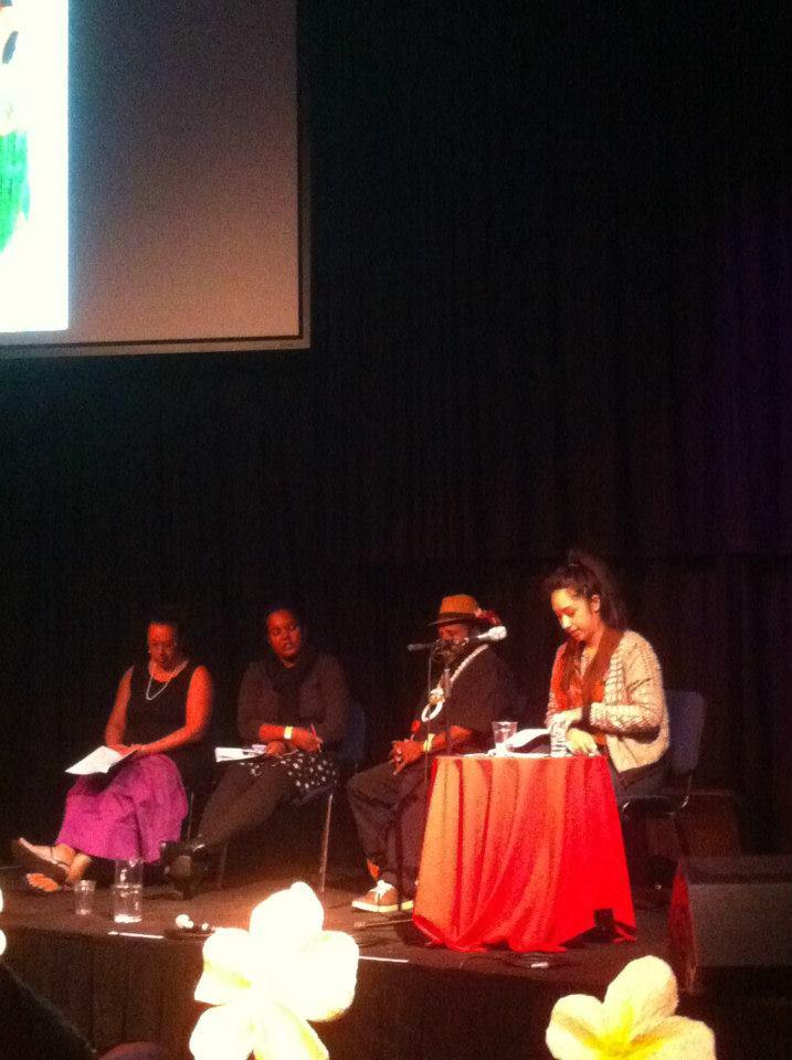 left to right: Leilani Kake, Patricia Adjei, Naup Waup and Lana Lopesi, photo credit: Leafa Wilson, photo courtesy: Facebook