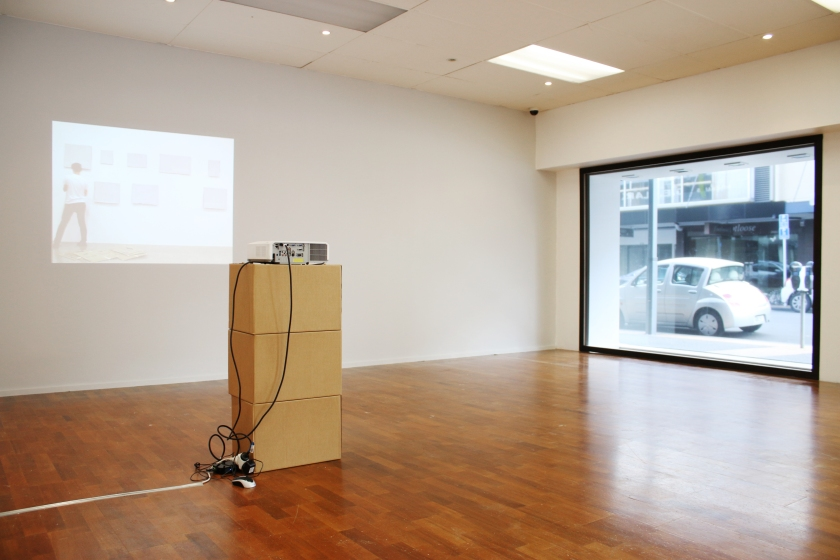 A Convenient Default install shot (photo courtesy of Pilot Gallery)
