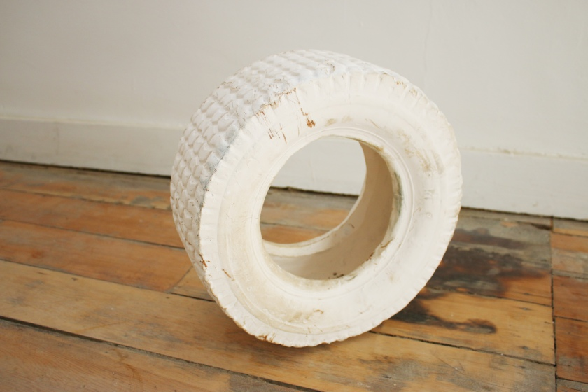 Irena Kennedy, Decay of the Copy, porcelain, white clay  (photo courtesy of Casbah Gallery)