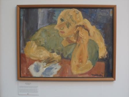 Woman Reading 1990 Oil on canvas