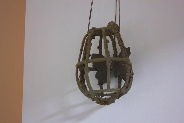 Sifting Shell, cage, 2015, Maria Katarina